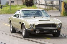 1973 Aston Martin V8 Maintenance/restoration of old/vintage vehicles: the material for new cogs/casters/gears/pads could be cast polyamide which I (Cast polyamide) can produce. My contact: tatjana.alic@windowslive.com