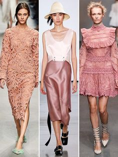 Confirmed: THIS Will Be Spring's Biggest Color - Last month we shared Pantone's vote for the number one color to w. Rose Quartz Color, Spring Summer Trends, Fashion News, Fashion Trends, Spring Collection, Who What Wear, Street Style Women, Celebrity Style