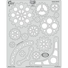 Artool-Gear drives-steampunk FX modèle 200 478 Maker Fun Factory Vbs, Airbrush, Steampunk Hat, Steampunk Crafts, Steampunk Design, Steampunk Cosplay, Steampunk Fashion, Cogs, Gear Template