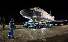 Space Shuttle Endeavour Move (201210120004HQ)