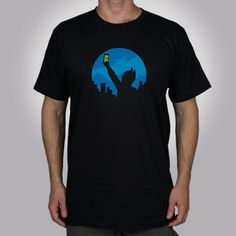 This Funny Glennz T-Shirt features a silhouette of Batman holding up his cell phone looking for a signal. Bat Signal, Dc Comics, Tees, Mens Tops, T Shirt, Fashion Design, Leggings, Products, Supreme T Shirt