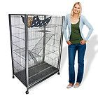"Playpen Tower Large Animal Cage Cat Cage Hammock Bed 55"" Tall Wire NEW - http://pets.goshoppins.com/small-animal-supplies/playpen-tower-large-animal-cage-cat-cage-hammock-bed-55-tall-wire-new/"