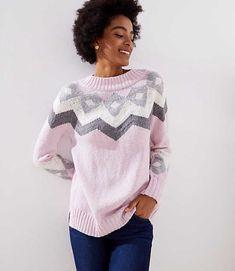 Shop LOFT for stylish women s clothing. You ll love our irresistible Modern  Fairisle Sweater d9b01c032