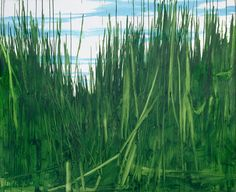 Wilhelm Sasnal, Grass, 2013 Found on sadiecoles.com