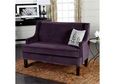 Not this one specifically, but like the idea of a purple couch in the living room.