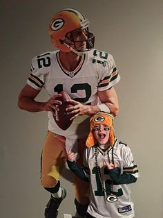 1fb04772f Football Bedroom. Aaron Rodgers Green Bay Packers. Thank you to our Fathead  fan for