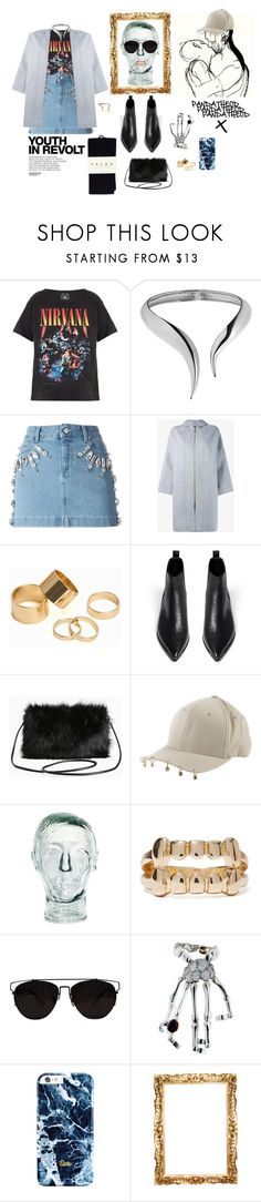 """muse at PANDATHEOD"" by pandatheod ❤ liked on Polyvore featuring Trunk LTD, Giuseppe Zanotti, Emanuel Ungaro, Acne Studios, Pieces, Torrid, Hedi Slimane, Falke, Stendhal and Flexfit"