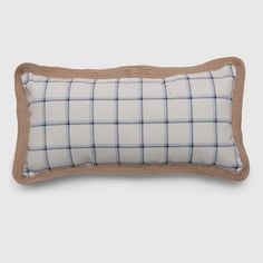 Lumbar Simple Grid Outdoor Pillow Blue - Threshold™ : Target String Lights Outdoor, Movies To Watch Free, Blue Pillows, Eclectic Style, Outdoor Throw Pillows, Porch Decorating, Lumbar Pillow, Textures Patterns, Love Seat