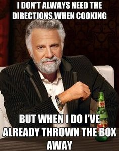 I don't always need directions