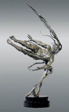 Photon Bronze Sculpture by M. L. Snowden