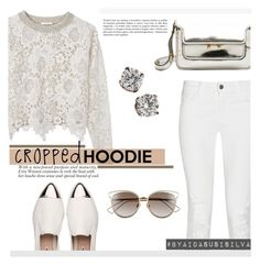 """""""Cute Trend: Cropped Hoodies"""" by aidasusisilva ❤ liked on Polyvore featuring See by Chloé, J Brand, Miu Miu, CO, Marni, Christian Dior and CroppedHoodie"""