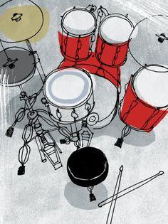 Printing Education For Kids Printer Drum Room Man Caves Drum Drawing, Drum Tattoo, Drum Room, Drums Art, Drum Music, Music Drawings, Grafiti, Art Girl, Framed Art