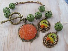 Gypsy Jewelry  Boho Chic  Taking Me to by CheralynsWoodworks, $32.00