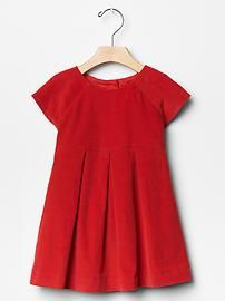 Gap Toddler Girl Corduroy pleat dress