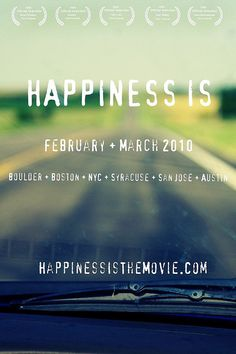 Happiness Is Poster
