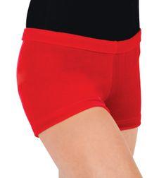 Adult Gymnastic Velvet Booty Short - Style Number: G507