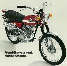 Honda Scrambler, Honda Motorcycles, Cars And Motorcycles, Japanese Motorcycle, Motorcycle Art, Vintage Cycles, Vintage Bikes, Vespa, Valentino Rossi 46