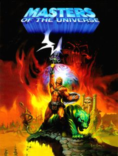 Masters of the Universe painting by Ken Kelly.
