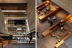 ANZ Centre in Melbourne's Docklands, designed by HASSELL and Lend Lease design, applies contemporary thinking in workplace design and leadership in sustainability to reflect the client's focus on