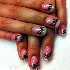 Gel Nail Design - see more nail designs on http://naildesigngallery.com
