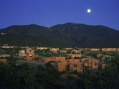 Santa Fe NM is too beautiful for words.