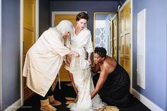 Getting Ready   Hotel Monaco   Hoffer Photography   Modern Philadelphia Wedding Photographers