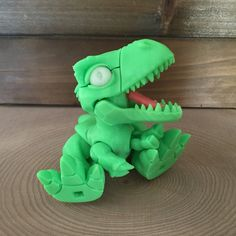 3D printed Trex from J2H Labs https://www.etsy.com/listing/247012806/3d-printed-t-rex-action-figure-boon