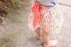 ribbon drawstring skirt tutorial by noodlehead