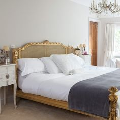Main bedroom | bedroom | PHOTO GALLERY | Style at Home | Housetohome