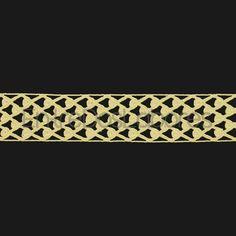 Entredós de encaje de bolillos de algodón mercerizado de 2,7 cm. (Disponible en 2 colores)