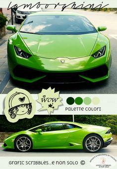 Ispirazione verde Lamborghini - Palette colori 2 giugno 2015 ~ Grafic Scribbles