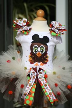 thanksgiving tutu infant | Thanksgiving Turkey tutu with bling and bows by ... | Baby #1 :)