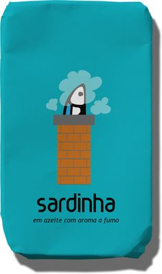 Smoked sardines. Quirky packaging.