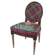 4ad5690e51b dark tartan thistle chair. design2share Tartan Chair