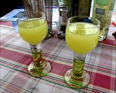 Limoncello!  Just love it! http://www.cookingwithnonna.com/italian-cuisine/limoncello.html
