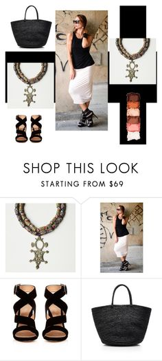 """""""Colors"""" by sibaru ❤ liked on Polyvore featuring Gianvito Rossi, Sensi Studio and NYX"""
