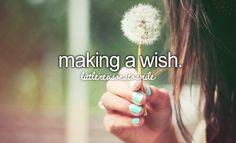 making a wish #littlereasonstosmile