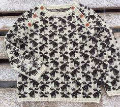 Ravelry: Moose Sweater by Lone Kjeldsen