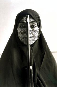 Shirin Neshat. Women of Allah series.