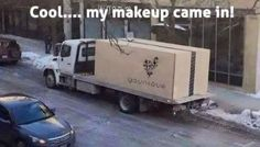 I love getting big boxes of Younique makeup in the mail :) Who wouldn't? ;)