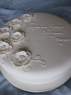 60th Anniversary Cake | Flickr - Photo Sharing!