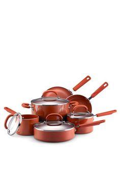 SandFlow-coated pans from a reduced greenhouse gasses factory. No teflon, no PFTE, no PFOA, no toxic fumes. <3