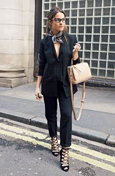 Todo negro  Outfit u