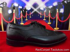 Mens shoes HUSH PUPPIES Bounce Tech Black LEATHER Dress Oxford sz 9.5 W WIDE #HushPuppies #Oxfords
