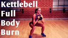 20 Minute Kettlebell Full Body Burn for Strength & Cardio