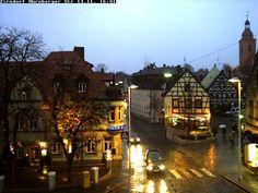 Downtown Zirndorf.