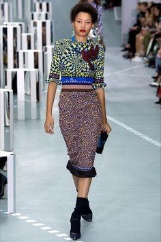 Sfilata Mary Katrantzou Londra - Collezioni Primavera Estate 2017 - Vogue