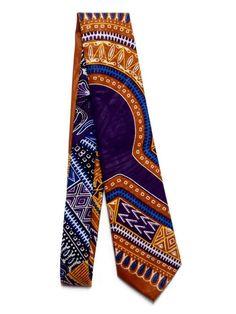 "AfroNeckties Brown Dashiki African tie And Pocket Square, 56"" Purple Ankara Necktie, African Men's Clothing, Teen's First Tie Gift https://www.etsy.com/listing/565059802/afroneckties-brown-dashiki-african-tie?utm_campaign=crowdfire&utm_content=crowdfire&utm_medium=social&utm_source=pinterest"