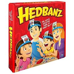"Price: (as of - Details) 000284800440 Spin Master Games Play Hedbanz, the quick question game of ""Wh Family Reunion Games, Family Games, Fun Games, Party Games, Time Games, Spin, Hobby Kids Games, Bored Games, Funny Questions"