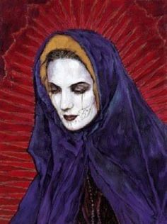 Red Madonna by Georges Yepes